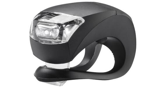 Knog Beetle - Luz a pilas dilanteras - 1 LED blanco, estándar negro